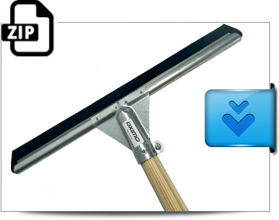 Water squeegee - download photo